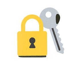 Example of Design for key, lock, Web Illustrations by edpuzzle-com | Illustration Design