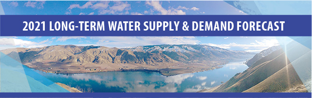 """Panorama of the Columbia River Basin. """"2021 Long-Term Water Supply & Demand Forecast"""""""