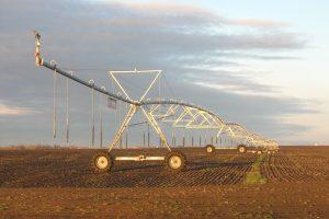 Center pivot irrigation, Eastern Washington