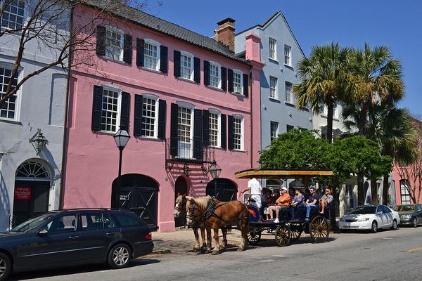 Rainbow Row-Charleston-South Carolina