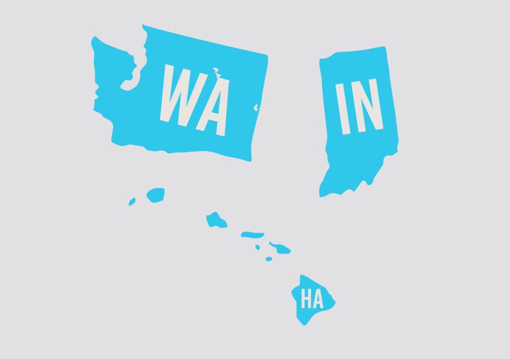 nursing compact license-2019-washington-hawaii-indiana