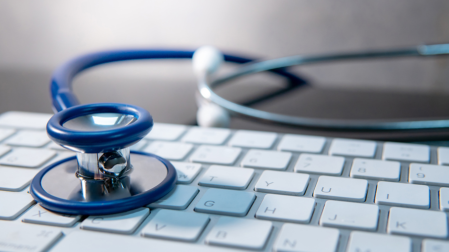 Stethoscope on keyboard-best places to work 2019