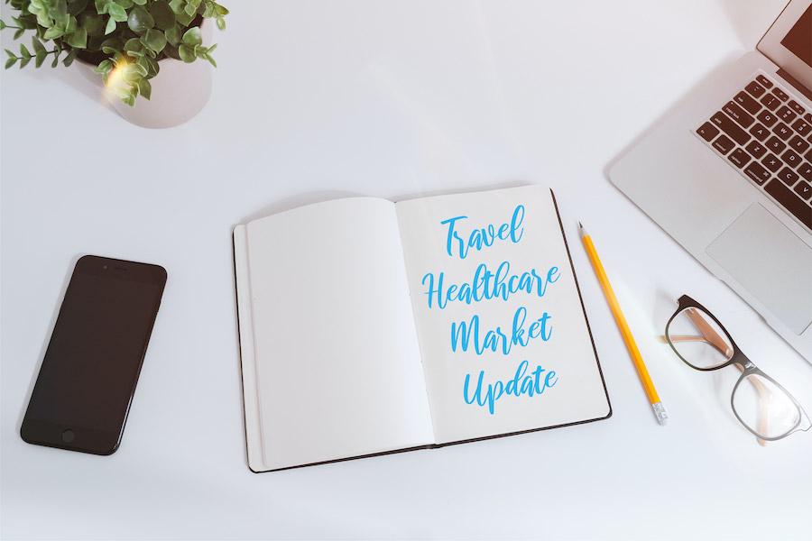 Travel Healthcare Market Update March 2021: Job Peak and Decline