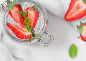 chia seed pudding snack
