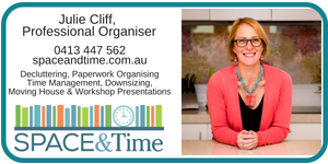 Julie Cliff - Space and Time Professional Organising