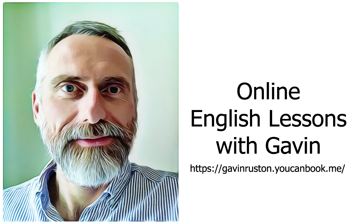 Book Your Online English Lessons with Gavin