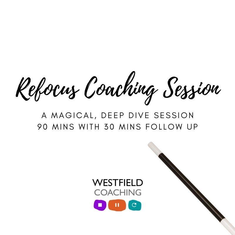 1-1 Refocus 1-1 Coaching Package
