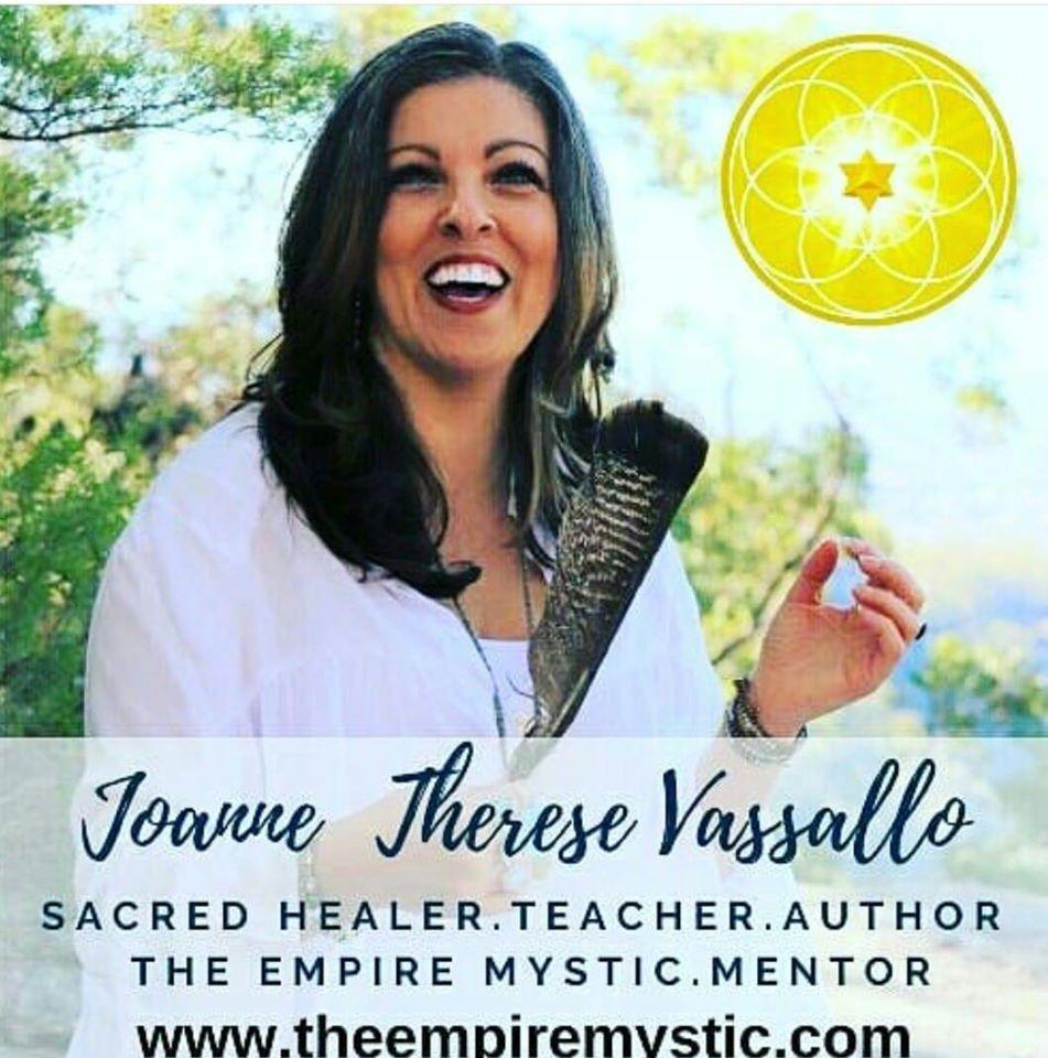 Joanne Vassallo   Sacred Healer   The Empire Mystic