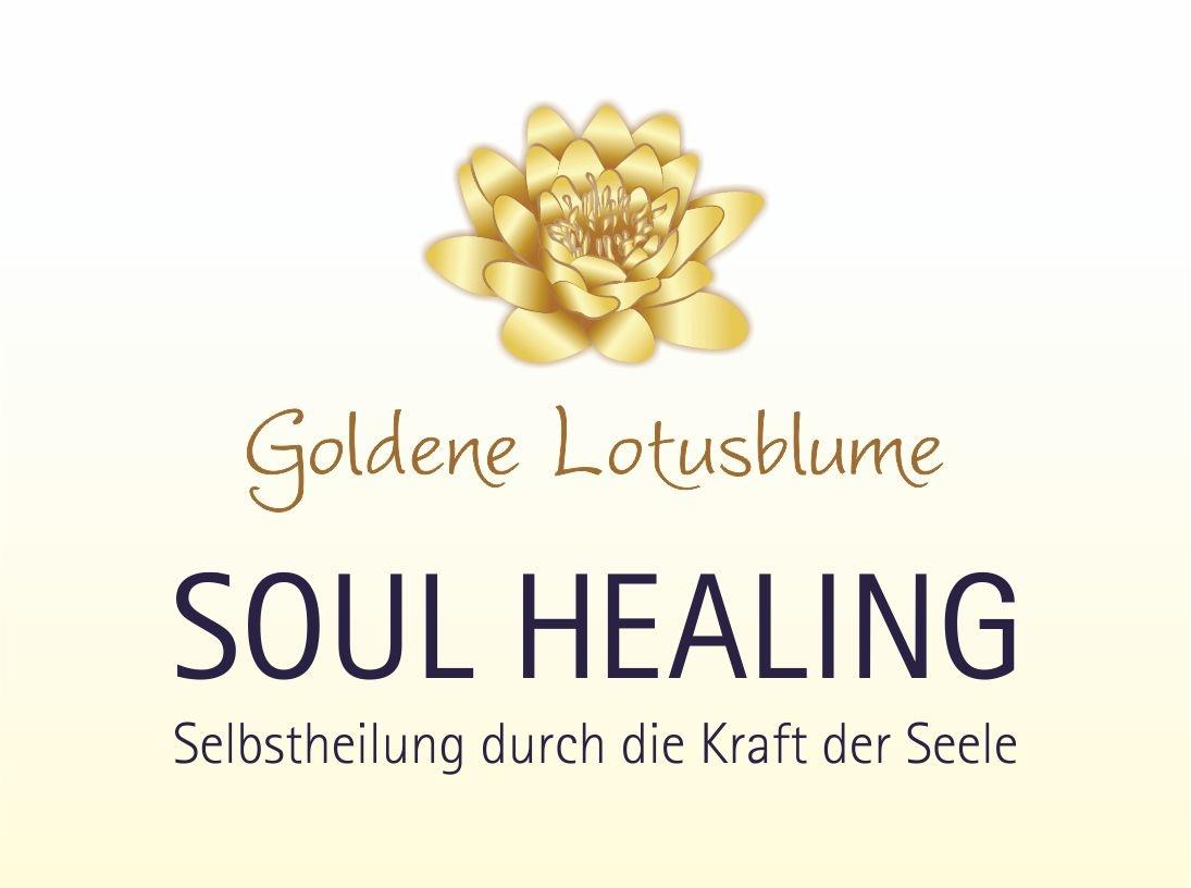 Goldene Lotusblume
