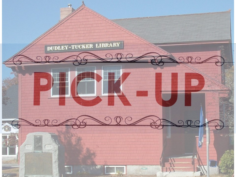 Dudley-Tucker Library Porch Pick-Up