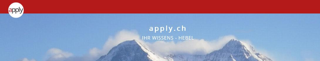apply.ch - Erich Schürmann - Web and Content