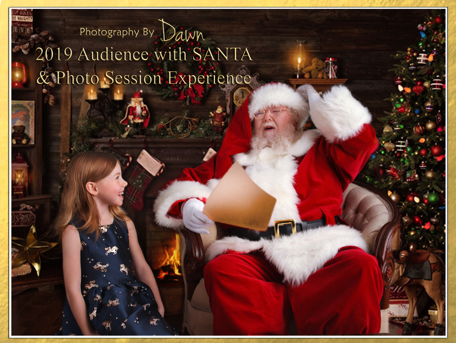 Photography By Dawn  ~ Santa Experience Portrait Session  2019
