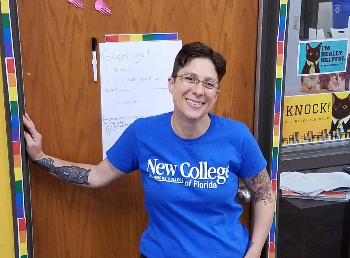 Helene Gold, Information Literacy Librarian
