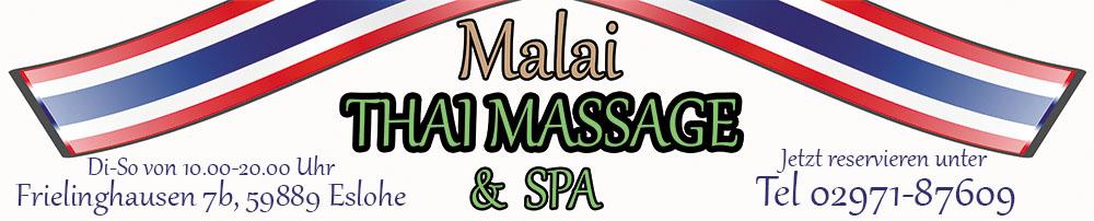 Malai Thai Massage & Spa in Eslohe  (keine Erotik)