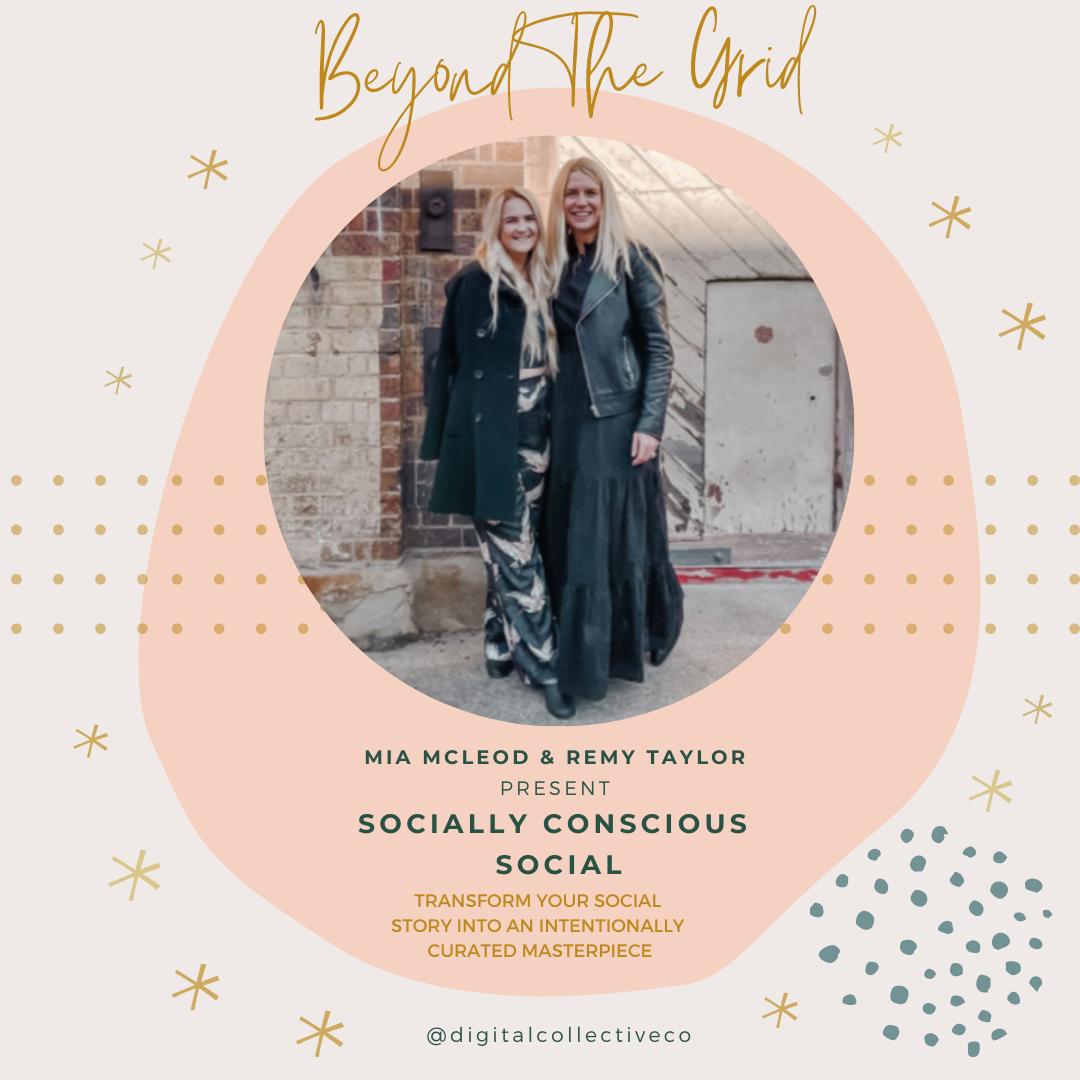 'Beyond The Grid' - Socially Conscious Social Training