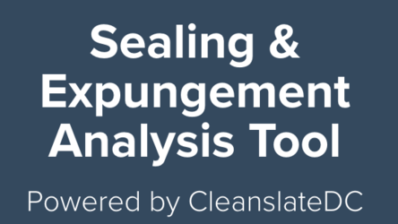 Demo of Expungement and Sealing Web Tool