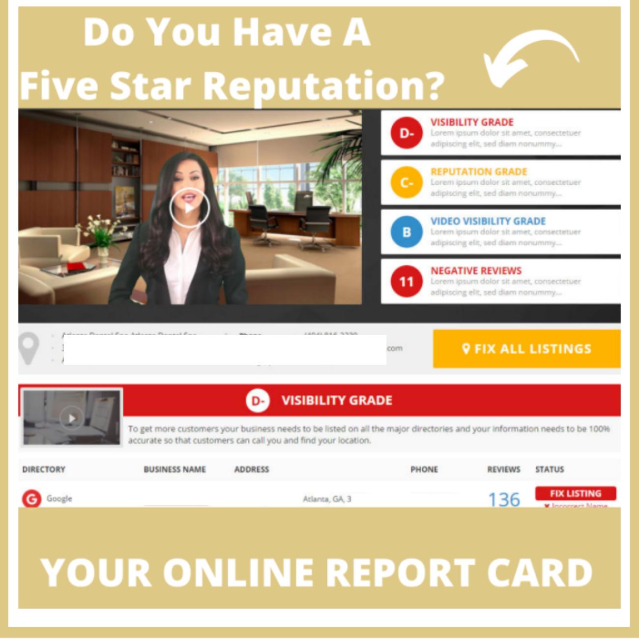 THE FIVE STAR REPUTATION CLUB