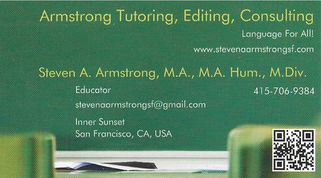 Armstrong Tutoring, Editing, and Consulting Online Sessions