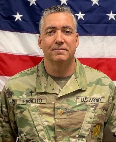 CH (MAJ) Tim Ippolito, U.S. Army