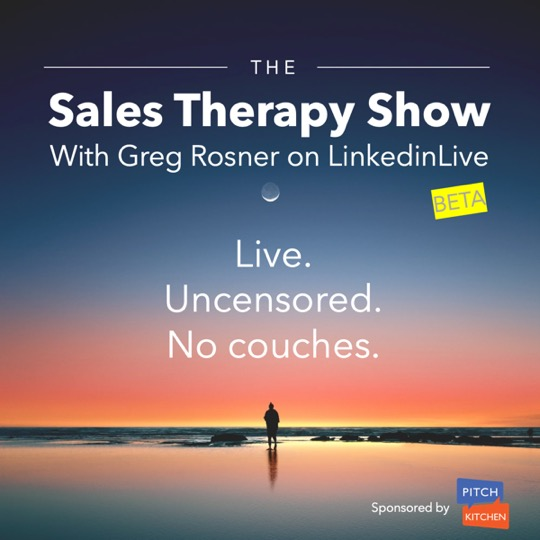 Sales Therapy Live - SHOWTIME booking
