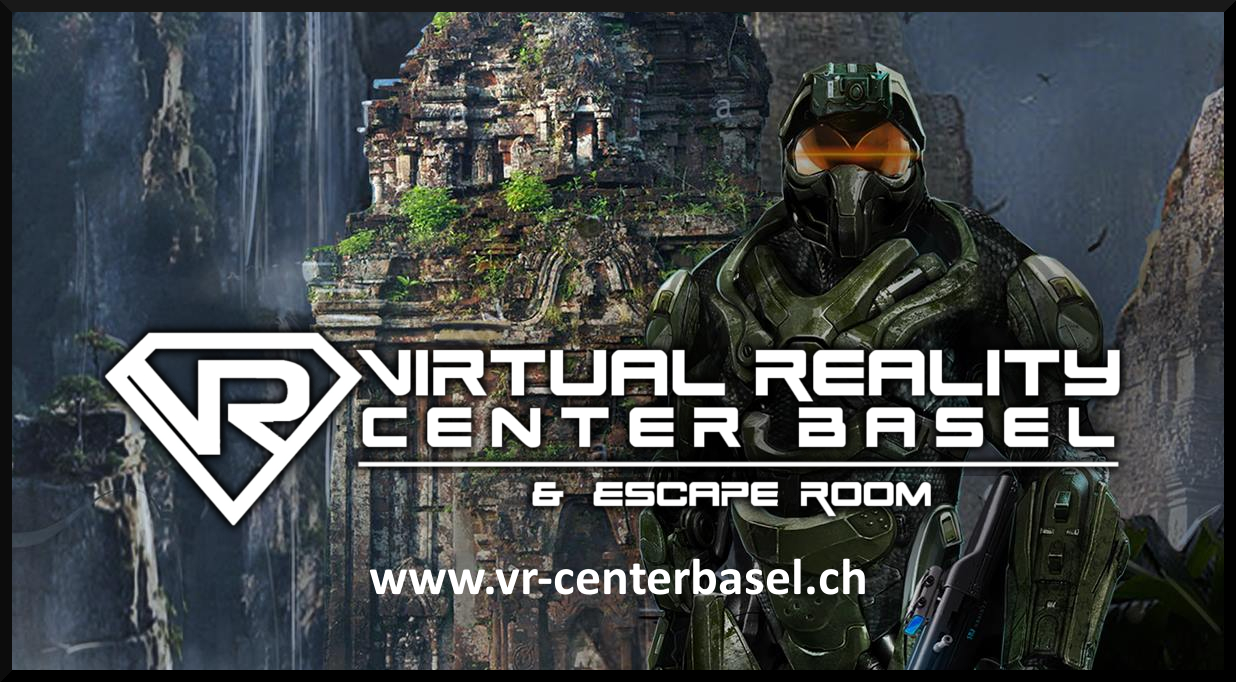 Buchungsseite Virtual Reality Escape Room und VR Games