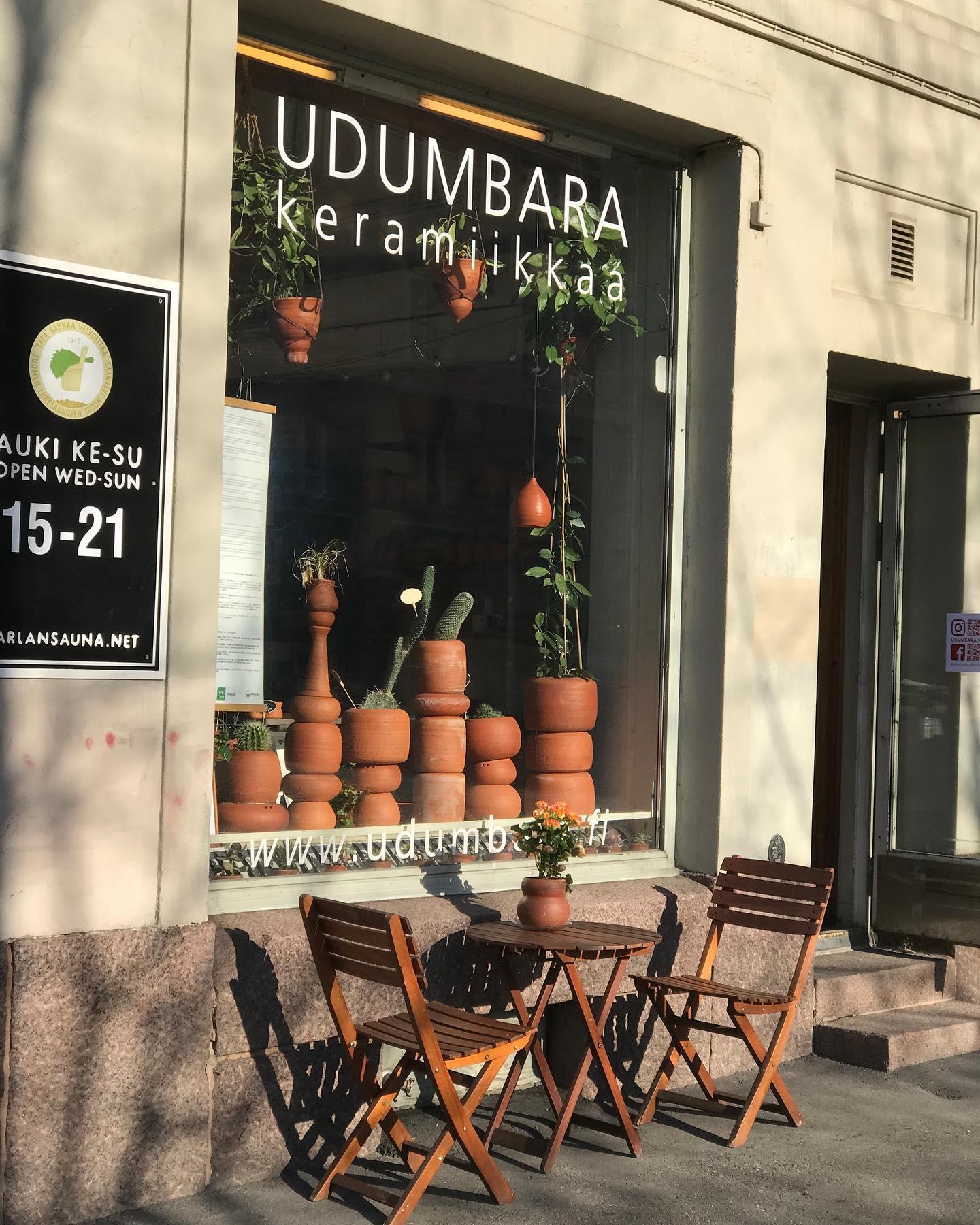 Welcome to visit Udumbara studio. Tervetuloa käymään.