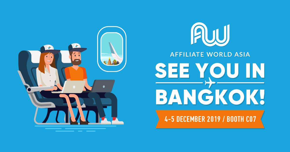 Bangkok ● December 4-5 ● AWASIA 19 ● Stand C07