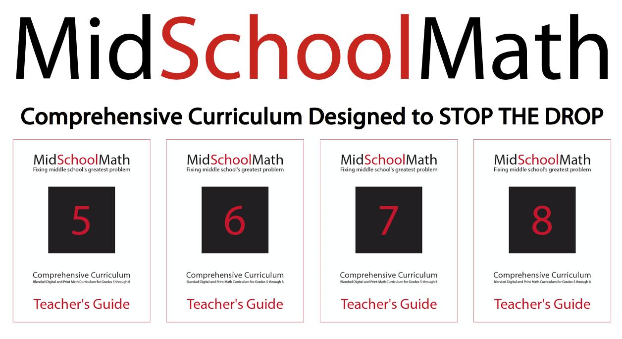 MidSchoolMath Comprehensive Curriculum