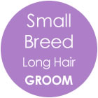 Tazzy & Boo Dog Groom - Small Breed with Long Hair