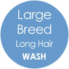 Tazzy & Boo Dog Wash - Large Breed with Long Hair