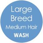 Tazzy & Boo Dog Wash - Large Breed with Medium Hair