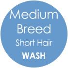 Tazzy & Boo Dog Wash - Medium Breed with Short Hair