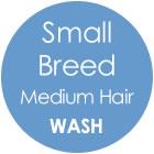 Tazzy & Boo Dog Wash - Small Breed with Medium Hair