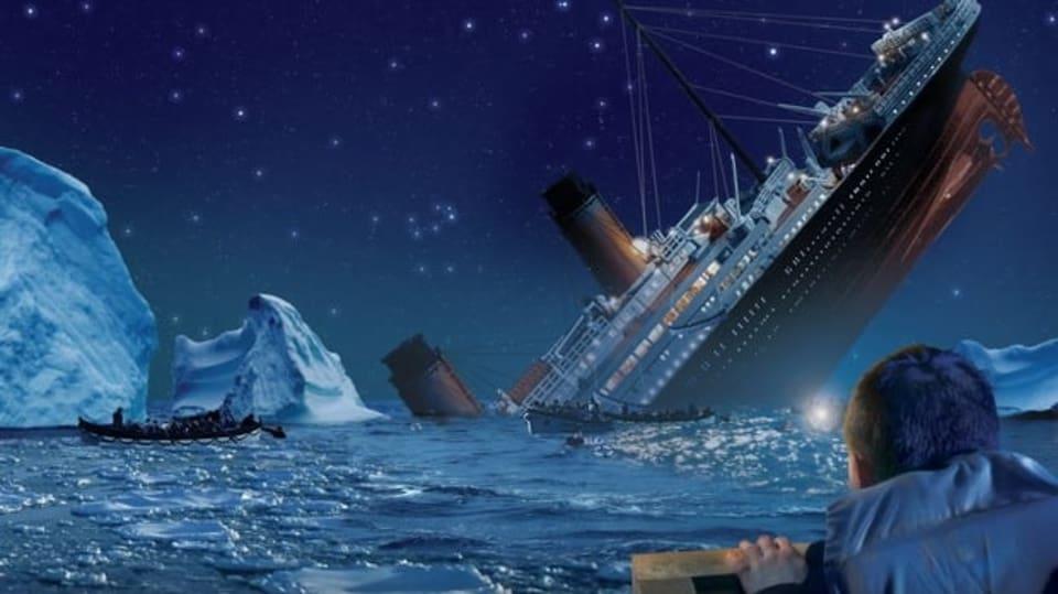 Šílený kapitán aneb únik z potápějící se lodi