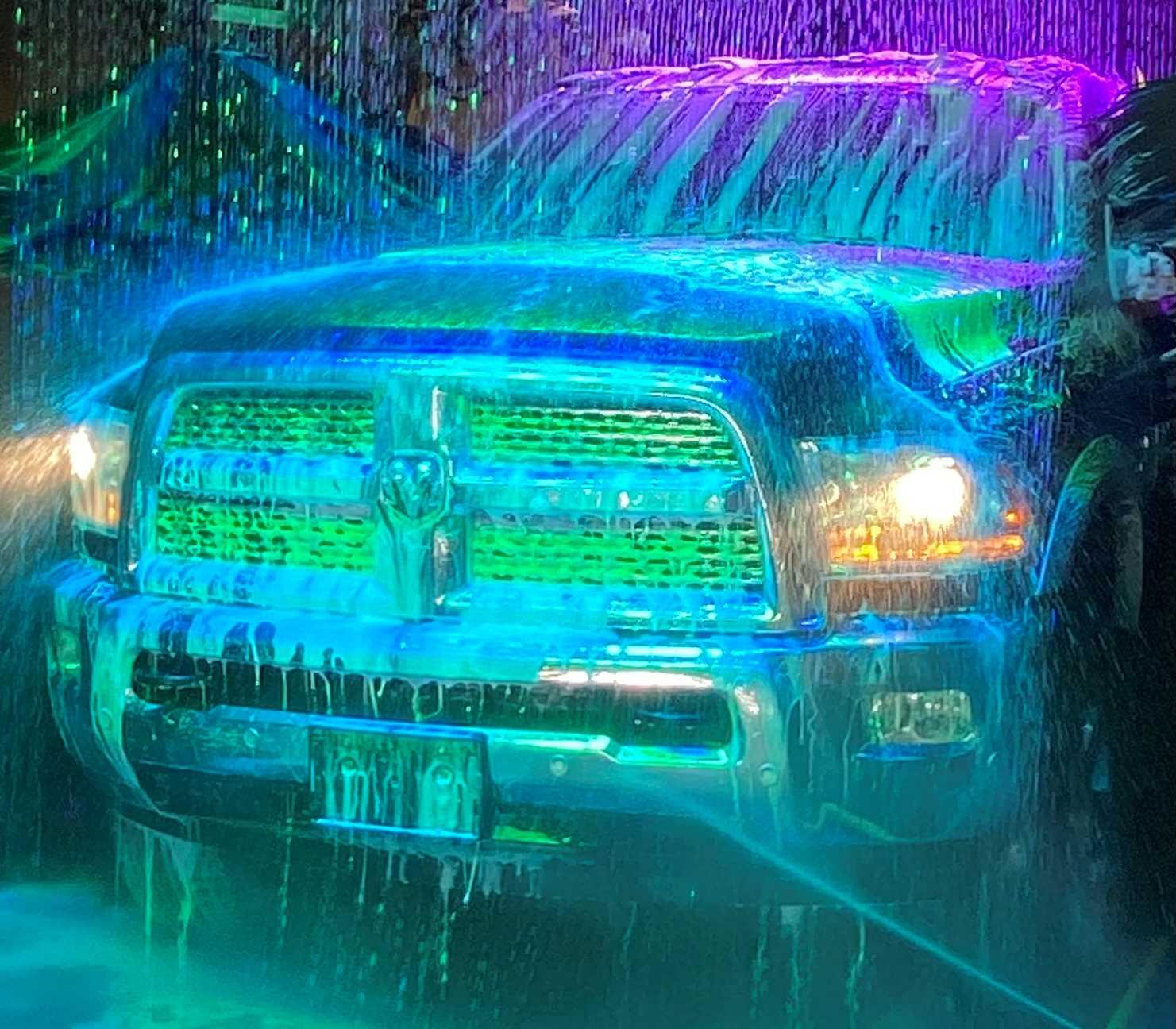 POLISHED PEACH CAR WASH