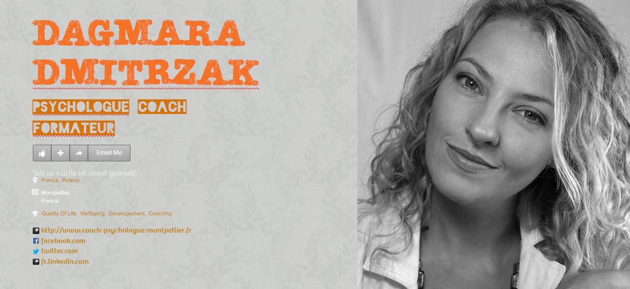 Coach Psychologue Montpellier Dagmara Dmitrzak