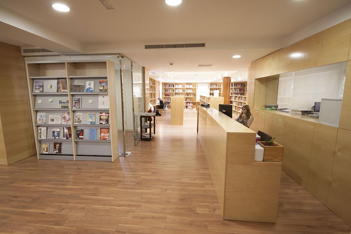 SLU-Madrid Library