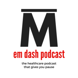 Welcome to the em dash podcast booking site!