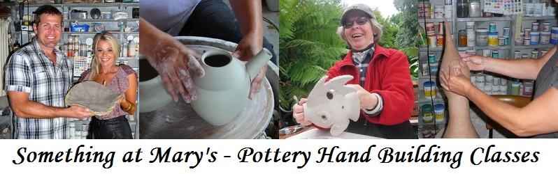 Pottery Hand Building Classes